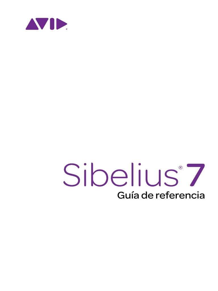 Sibelius Reference.pdf