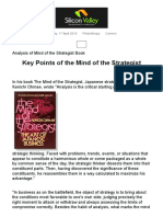 Key Points From Mind of the Strategist
