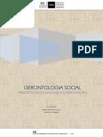 GERONTOLOGIA SOCIAL Analise Intervencao