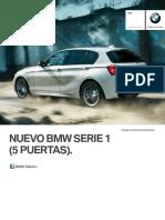Ficha Tecnica BMW 120iA 5 Puertas Automatico 2016