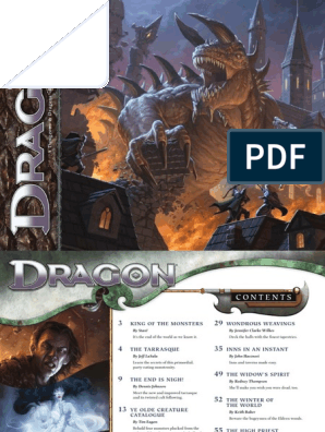 Dragon Magazine #418 | Predation | Dungeons & Dragons