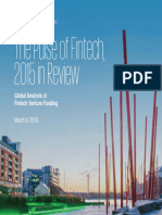 The Pulse of Fintech 2015 in Review