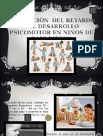 prevencion de retardo del desarrollo psicomotor en el niño