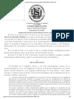 Sentencia TSJ Ley de Otorgamiento Titulos Gmvv