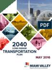 2040 Long Range Transportation Plan (2040 Plan) - MVRPC
