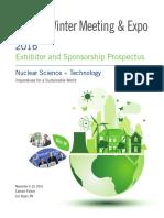 2016 ANS Winter Meeting Prospectus