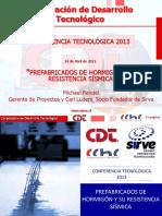 CChC Proyectos Prefabricados Con Aislamiento Sismico Abril 2013