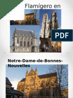 Gótico Flamígero en Francia y España
