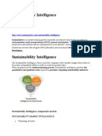 Sustainability Intelligence