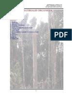 Unidad 6 - Materiales Organicos Madera Plasticos Asfaltos
