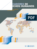 ONU (2012). Indicadores de Derechos Humanos