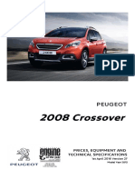 Peugeot 2008 Prices and Specifications Brochure 1