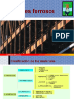 Materiales Ferricos TIPOS de ACEROS