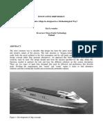 System Based Ship Design, Kai Levander