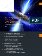 El Cosmos y El Universo