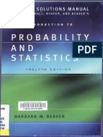 SOLU Introducción a La Probabilidad y Estadística, 12ma Edición - W. Mendenhall, R. Beaver