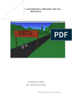Simulación y Análisis de La Dinámica de Una Bicicleta