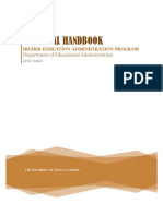 HED Doctoral Handbook