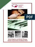 DT&DH Written Exam Handbook June 2014