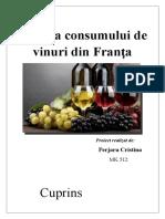 Analiza Consumului de Vinuri Din Franta