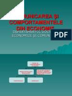 Comunicarea u015ei Comportamentele Din Economie. Ppt