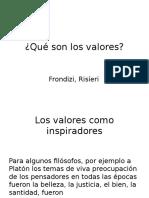 Qué Son Los Valores(1)