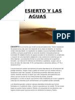El Desierto y Las Aguas