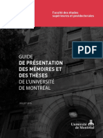 Guide Presentation Memoires These s