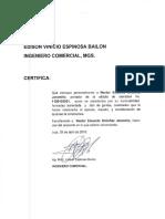 Certificado Para Paola