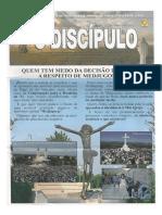 "Informativo ""O Discipulo"" - Agosto 2015"