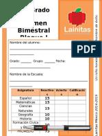 6to Grado - Bloque 1 (2014-2015)