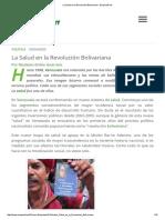 La Salud en la Revolución Bolivariana - Ecoportal.pdf