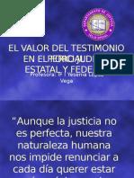 El Valor Del Testimonio Pericial Fors 2000