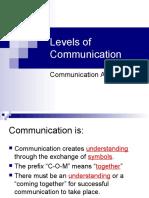 2008-09-03 - Five Levels of Communication