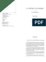 Stiegler Bernard La Tecnica y El Tiempo La Desorientacion Vol II