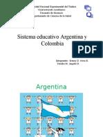 Sistema Educativo de Argentina y Colombia.2
