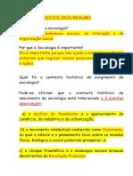 RESUMO sociologia3