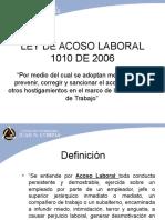Ley de Acoso Laboral