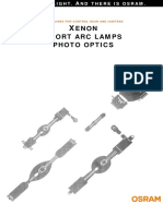 Lamps Xenon Short Arc