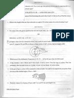 EAD Mock Paper Maths Class 10 Term 2
