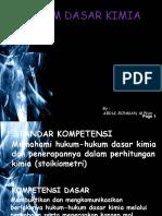 74604839 Hukum Dasar Kimia1