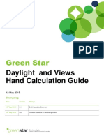 Green Star_Daylight and Views Hand Calculation Guide May 2015 RELEASE