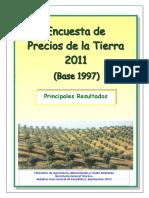 Encuesta Precios Tierra 2011 Tcm7-220709 (1)