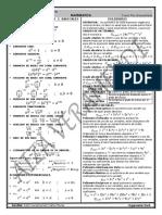 FORMULARIO EXPONENTES,POLINOMIOS