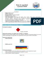 Ficha de seguridad 1-pentanol.
