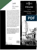 Peter McPhee - La Revolucion Francesa, 1789-1799