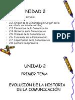 1.Aahistoria de La Comunicación