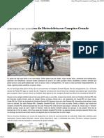 Encontro de Estudos Da Motocicleta Em Campina Grande - EQUILÍBRIO EM DUAS RODAS