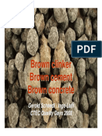 Brown Clinker