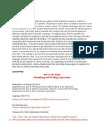 digital product lesson plan